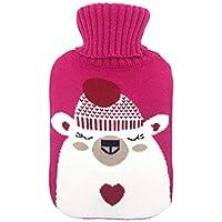 Cute Wärmflasche Cover nur Neuheit abnehmbarem Strickbezug, Staubbeutel für Baby Kinder Frauen preisvergleich bei billige-tabletten.eu