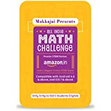 Admit Card to makkajai All India Math Challenge; powered by Amazon India STEM Store | India's First and Largest Mobile-based Math Competition
