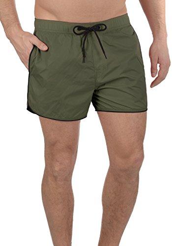 Blend Zion Herren Schwimmhose Swim-Shorts Kurze Hose Badehose, Größe:XL, Farbe:Dusty Green (70595) -
