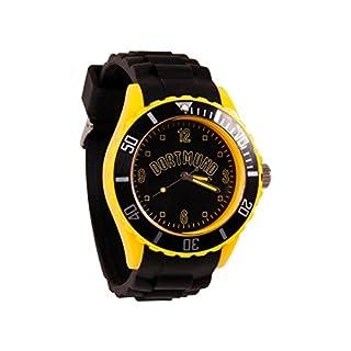 Alsino Armbanduhr WM EM Länder Silikon Uhren für Damen und Herren Silikonuhr, UR-259 Dortmund