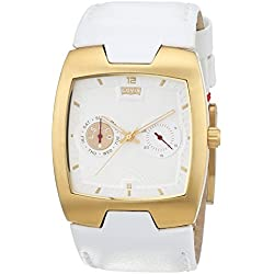 Levis Unisex Quartz Watch Analogue Display and Stainless Steel Strap L003GLGWRW