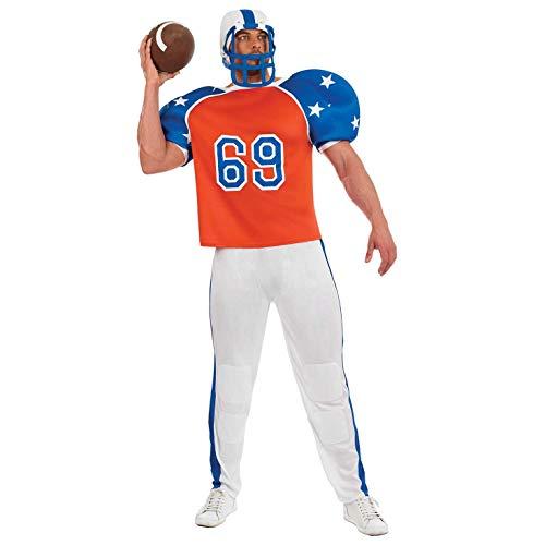 tume Kostüm, Football Player, XL ()