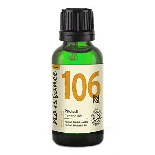 Naissance Olio di Patchouli Biologico - Olio Essenziale puro al 100% -...