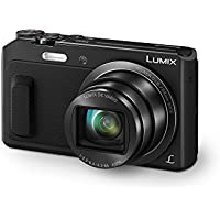 Panasonic Lumix DMC-TZ57 Appareils Photo Numériques 17.5 Mpix Zoom Optique 20 x Noir