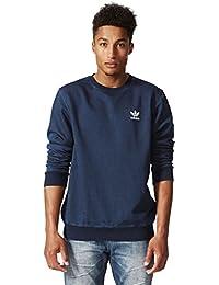 French Terry Denim Crew Medium Blue Denim 2016 Adidas Originals