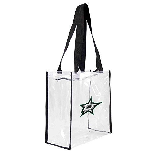 nhl-dallas-stars-square-stadium-tote-115-x-55-x-115-inch-clear-by-littlearth
