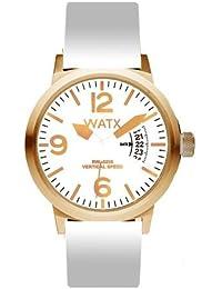 88bc2a6d8e6f Watx Vertical Speed Reloj para Mujer Analógico de Cuarzo con Brazalete de  Goma RWA0215