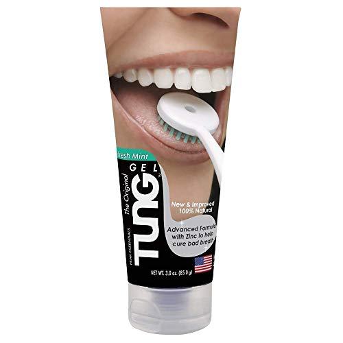 Tung Gel Fresh Mint Zungengel 85g Tube hilft gegen Mundgeruch