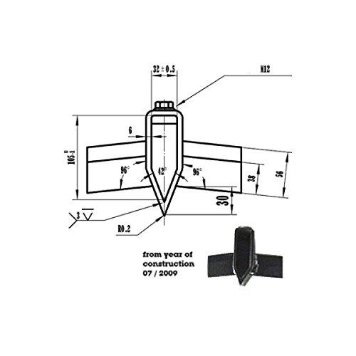 ATIKA Ersatzteil - Spaltkreuz 32 mm Aufnahme für ASP 10 N ***NEU***