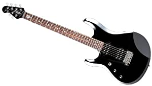 Guitares électriques STERLING BY MUSIC MAN GAUCHER JOHN PETRUCCI SIGNATURE JP60 BLACK METALLIC Electriques pour gauchers