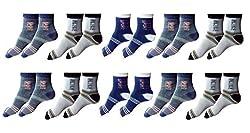 Zacharias Ankle Socks Pack of 10 Pair