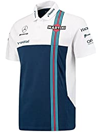 Williams Martini fórmula 1 Racing Hombres de 2017 equipo Polo ...