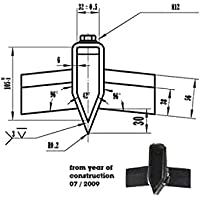 Hydraulikschlauch mitte für Brennholzspalter ASP 10N//11N ***N ATIKA Ersatzteil