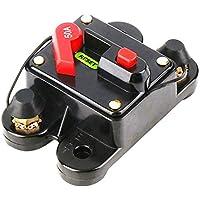 Sanzhileg 50A 60A 80A 100A 125A 150A 200A 250A Fusible Opcional del disyuntor en línea del Audio para el automóvil para la protección SKCB-01-100A de 12V