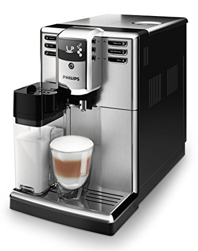 Philips 5000 Serie EP5365/10 Kaffeevollautomat (integrierte Milchkaraffe) Edelstahl Front