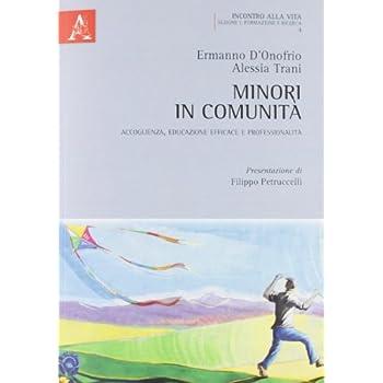 Minori In Comunità. Accoglienza, Educazione Efficace E Professionalità
