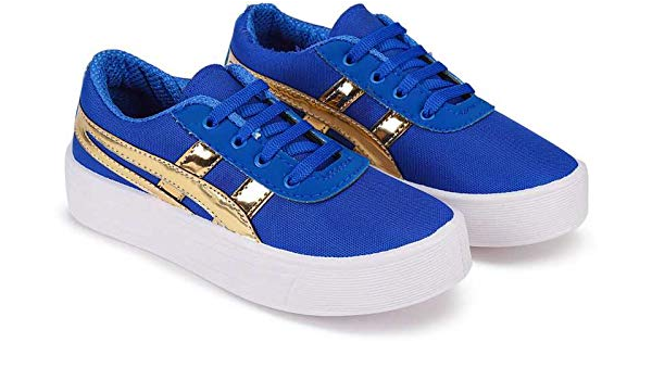 royal blue casual shoes