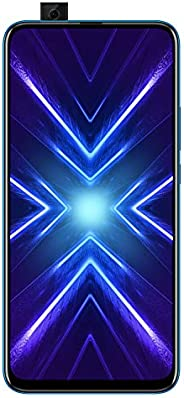 Honor 9X (Sapphire Blue, 4+128GB Storage)-Pop up Front Camera & 48MP Triple Rear Ca
