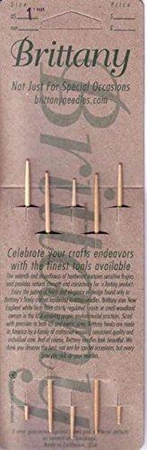 """Brittany 5""""(13 cm) Abedul Doppelstricknadel hergestellt von Brittany, Inc."""