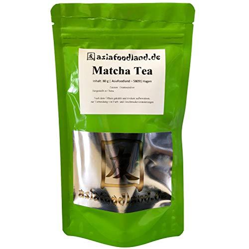 Asiafoodland - Matcha - Maccha - Grünteepulver - Matcha Tea - Grean Tea Powder, 1er Pack (1 x 80g)