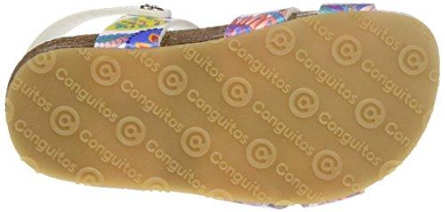 Conguitos Hv128517, Sandales fille Multicolore