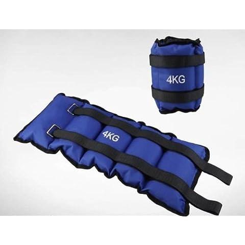 Fitness de pesas para de manos o pies articulaciones, 2kg por unidad, total 4kg