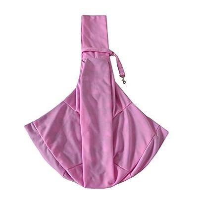 PENIVO Reversible Pet dog Bag Hands Free,Strap Adjustable Sling Carrier Transport bags shoulder bag for small medium… 6