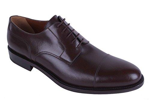 Alexander Chaussures Hommes Plein Cuir Fait A La Main Marron Marron