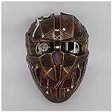 YaPin Masque de honte COS Humiliation 2 Corvo Mask Halloween film d'horreur joue la tronçonneuse masque de honte (Color : Retro copper)