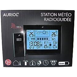 Auriol® Station Meteo sans Fil Interieur Exterieur