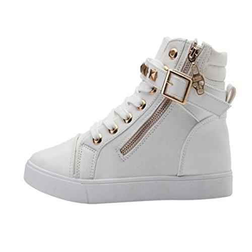 Scarpe Donna, Rcool Modelli da donna autunno e inverno con scarpe di alta moda Blanco