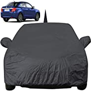 Autofact Car Body Cover for Maruti Swift Dzire (2017 to 2019) with Mirror and Antenna Pocket (Light Weight, Tr