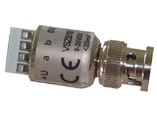vsz-610-miniatur-zweidrahtsender-im-bnc-stecker-zum-aufstecken-auf-die-kamera-erhohter-uberspannungs