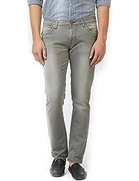 LAWMAN PG3 Blue Solid Slim fit Jeans