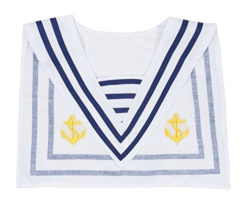 erdbeerclown- Hut und Kragen Marine Matrose Kostüm, (Schleier Damen Prinzessin Hut)