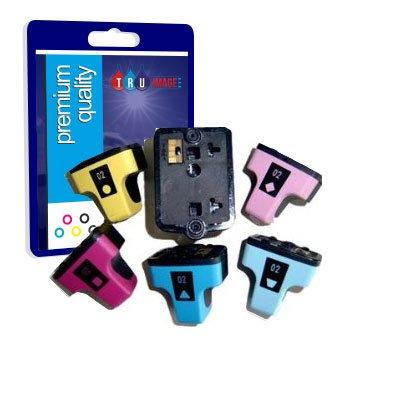 6 Premium Qualité Compatible d'encre cartouches pour Hewlett Packard HP363