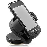 tianxiaw- Universal 360degree Spin Auto Windschutzscheibenhalterung Zellhandyhalter Halterung Steht für Smartphone GPS, Black