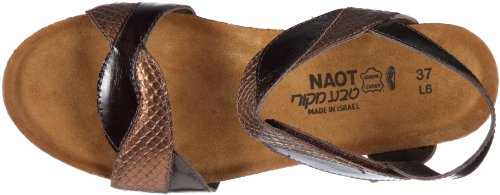 Naot Union N23005-ns96 Damen Sandalen/Fashion-Sandalen Braun/Brown/Lizzard/Espresso uGWu8z
