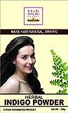 Khadi Mauri Herbal Indigo Powder - Hair & Beard Dye (BLACK) - 100