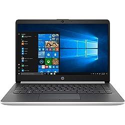 HP 14-dk0042nf - PC Portable - 14'' HD anti reflet Argent (AMD Ryzen 3 3200U, RAM 4 Go, SSD 256 Go, AMD Radeon Vega 3, USB C, Windows 10)
