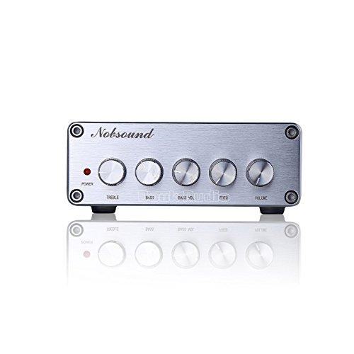 418d9VeEo L. SS500  - Nobsound HiFi TPA3116D2 2.1 Channel Digital Audio Power Amplifier Stereo Amp 2×50W+100W Subwoofer Treble Bass…