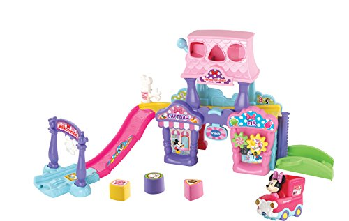 Vtech 80-512004 TUT Baby Minnies Eisdiele Flitzer Fahrzeuge Babyauto, bunt