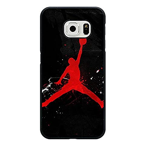 Unique Stylish Air Jordan Phone Case for Samsung Galaxy S6 Edge Michael Jordan Logo Mobile Phone Case Cover Classical Luxury Series