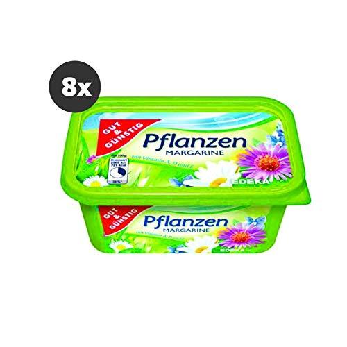 Gut und Günstig Pflanzenmargarine 8x500g