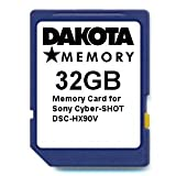 32GB Memory Card for Sony Cyber-SHOT DSC-HX90V