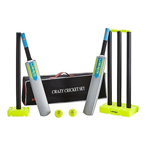 Super cricket set, Komplett top-Spiel in top Tasche, 2x Schalger: 3 und 5