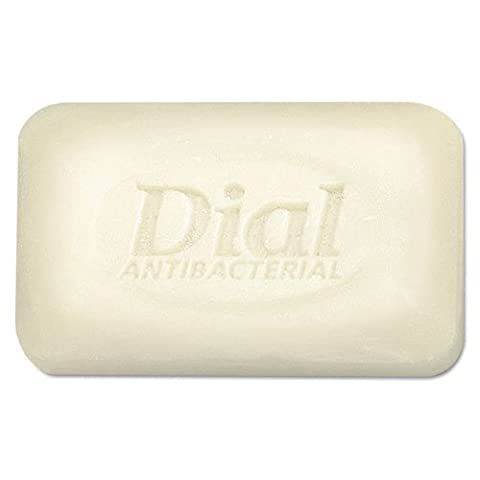 Dial - Antibacterial Deodorant Bar Soap, Unwrapped, White, 2.5oz, 200/Carton 00098 (DMi CT by Dial