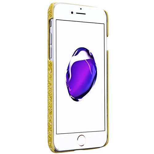 Cover iPhone 6S Ultra Thin Duro Copertura iPhone 6 Custodie con [Materiale Flanella] Cover, HB-Int 3 in 1 Nuovo Disegno Cover Protettiva Shell Case Leggera Copertura Anti Graffi Soft Cover + Pennino + Giallo