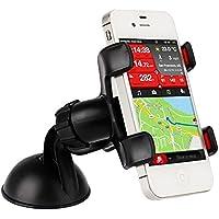 DXEWSE ziqiao universelle Auto 360-Grad-Drehung Halterung für Samsung / HTC / iphone / gps , black