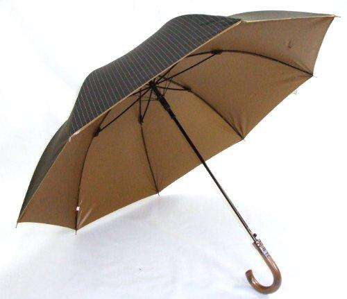 Previsioni Tagliare bavero del cappotto nero 99% <Men's fiera o piovoso uso combinato ombrello length> 65 centimetri JP ultravioletti (japan import)